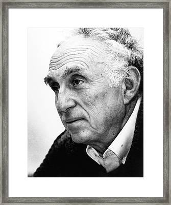 Martin Perl Framed Print by Aip Emilio Segre Visual Archives, W. F. Meggers Gallery Of Nobel Laureates