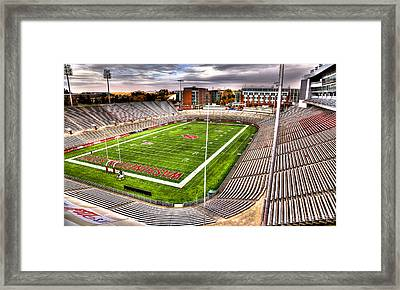 Martin Stadium At Washington State Framed Print