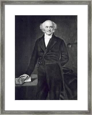 Martin Van Buren Framed Print by George Healy