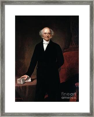 Martin Van Buren Framed Print by GPA Healy