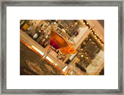 Martini 2 Framed Print by New  Orleans Food