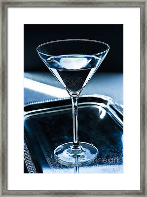 Martini Framed Print by HD Connelly