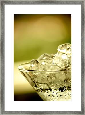 Martini Xiv Framed Print by Rene Triay Photography