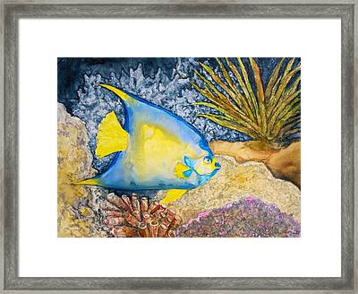 Martinique Angel Framed Print