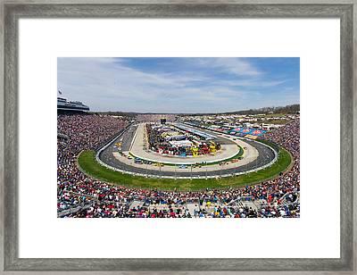 Martinsville Speedway 2013 Framed Print