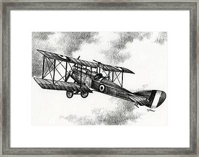 Martinsyde G 100 Framed Print by James Williamson