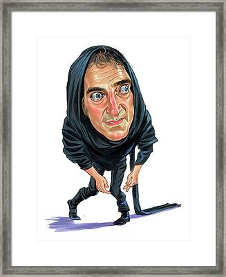 Marty Feldman As Igor Framed Print by Art