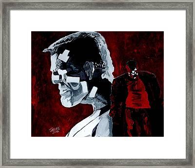 Marv Framed Print by Jeremy Moore