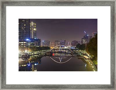 Marvellous Melbourne I Framed Print by Casey Grant