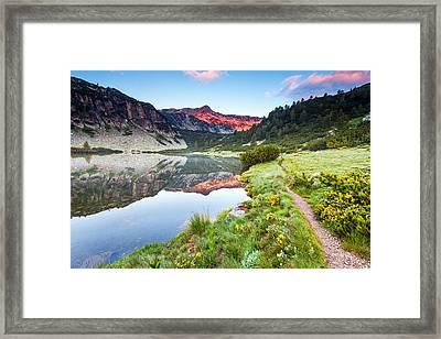 Marvelous Lake Framed Print