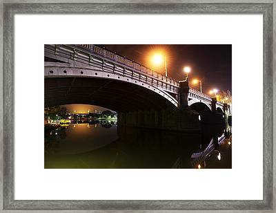 Marvellous Melbourne II Framed Print by Casey Grant