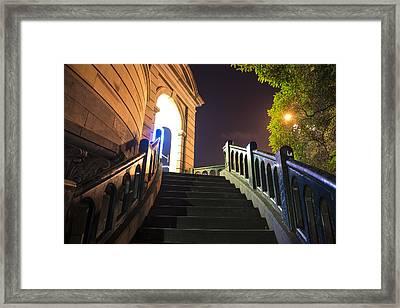 Marvelous Melbourne Iv Framed Print by Casey Grant