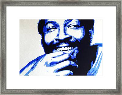 Marvin Gaye Framed Print
