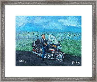 Marvins Ride Framed Print