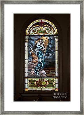 Mary And Jesus Framed Print by Ivete Basso Photography