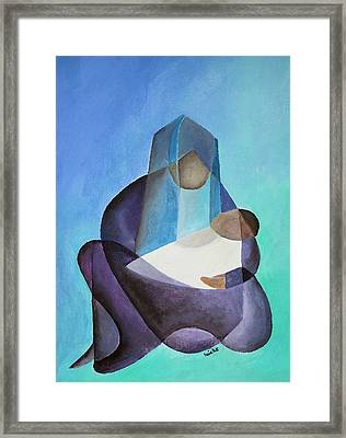 Mary And Messiah Framed Print