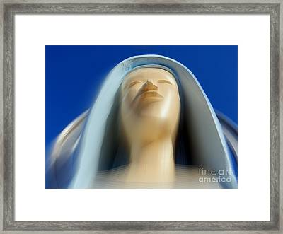Mary Ascending Framed Print by Ed Weidman