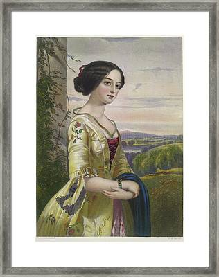 Mary Framed Print by British Library