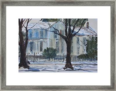 Mary Ecks House Framed Print
