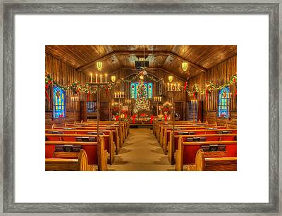 Mary Helen Christmas Framed Print