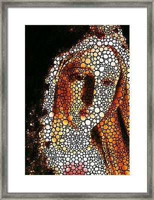 Mary - Holy Mother By Sharon Cummings Framed Print