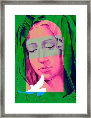 Mary I Framed Print by Savyra Meyer-Lippold