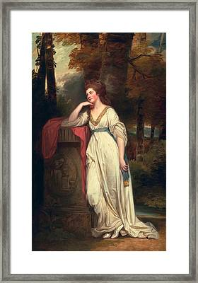 Mary, Lady Beauchamp-proctor, C.1782-88 Framed Print by George Romney