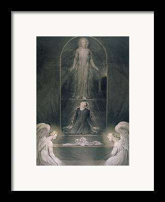St Mary Magdalene Drawings Framed Prints