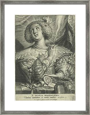 Mary Magdalene Gets Rid Of Its Wealth Framed Print