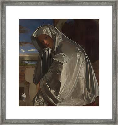 Mary Magdalene Framed Print by Mountain Dreams