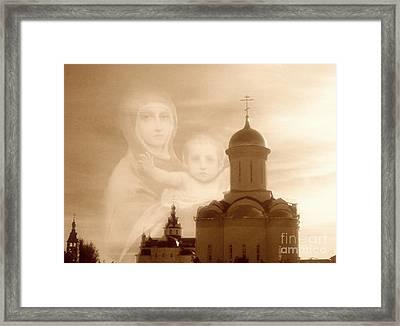 Mary Magic Framed Print