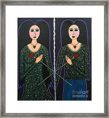 Mary Marie Framed Print