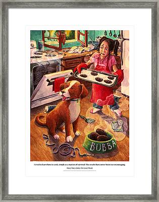 Mary Mary Quite On Great Meals Framed Print by David Condry