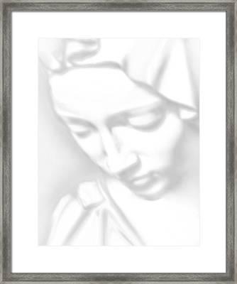 Mary Pieta Framed Print by Tony Rubino