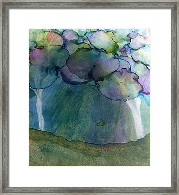 Mary Poppins Spring Framed Print