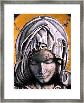 Mary Super Petram - Study No. 1 Framed Print by Steve Bogdanoff