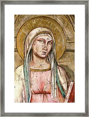 Mary Super Petram - Study No. 2 Framed Print