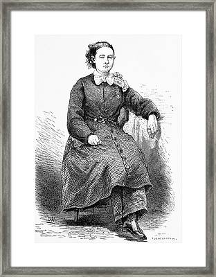 Mary Walker Framed Print by Bildagentur-online/tschanz