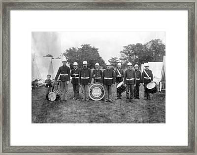 Maryland Camp Mckibbin Framed Print by Granger
