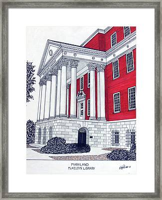 Maryland Framed Print by Frederic Kohli