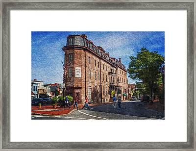 Maryland Inn - Annapolis Framed Print by Brian Wallace