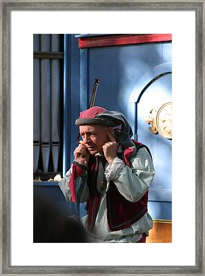 Maryland Renaissance Festival - A Fool Named O - 12122 Framed Print by DC Photographer