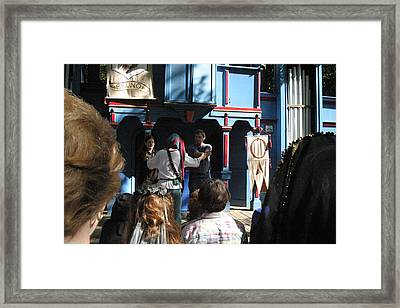 Maryland Renaissance Festival - A Fool Named O - 121228 Framed Print by DC Photographer