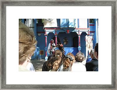 Maryland Renaissance Festival - A Fool Named O - 121230 Framed Print by DC Photographer
