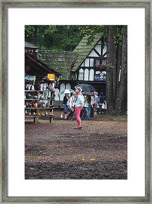 Maryland Renaissance Festival - A Fool Named O - 121231 Framed Print by DC Photographer