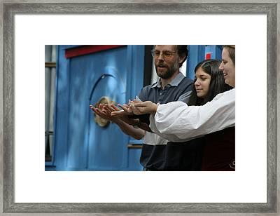 Maryland Renaissance Festival - A Fool Named O - 121238 Framed Print