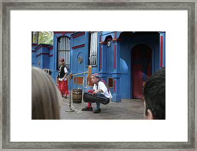 Maryland Renaissance Festival - A Fool Named O - 121250 Framed Print