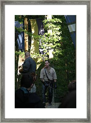 Maryland Renaissance Festival - Hack And Slash - 12121 Framed Print by DC Photographer