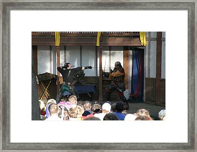 Maryland Renaissance Festival - Hack And Slash - 12127 Framed Print by DC Photographer