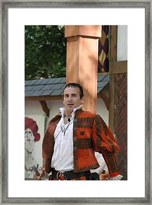 Maryland Renaissance Festival - Johnny Fox Sword Swallower - 121235 Framed Print